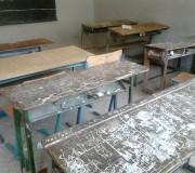 میز دانش آموزان،کلاس درس